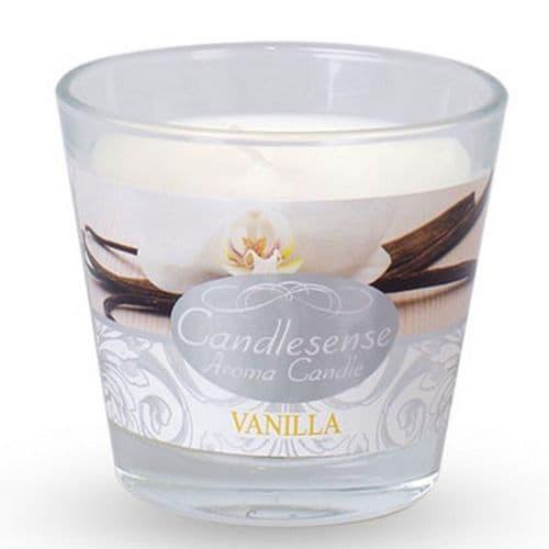 Scented Jar Candle - Vanilla